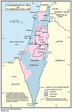 UN Partition Plan 1947